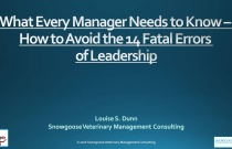 How to Avoid the 14 Fatal Errors of Leadership