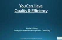 You Can Have Quality & Efficiency