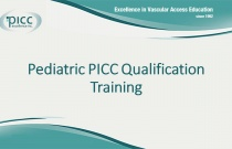 Pediatric PICC Qualification Training