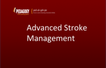 Advanced Stroke Management