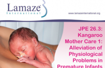 JPE 26.3: Kangaroo Mother Care 1: Alleviation of Physiological Problems in Premature Infants