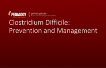 Clostridium Difficile: Prevention and Management