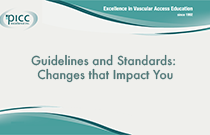 Guidelines and Standards: Changes that Impact You