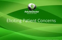 Eliciting Patient Concerns