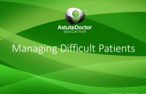 Managing Difficult Patients