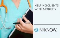 Helping Clients with Mobility