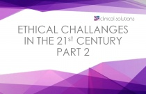 Ethical Challenges in the 21st Century Part 2