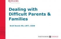 Dealing with Difficult Parents & Families