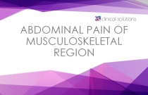 Abdominal Pain of Musculoskeletal