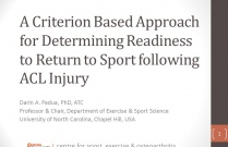 Return to Sport after ACL Injury