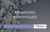 Managing anaphylaxis