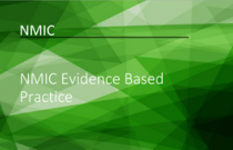 NMIC Evidence Based Practice