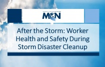 After the Storm: Worker Health and Safety During Storm Disaster Cleanup