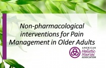 Non-pharmacological interventions for Pain Management in Older Adults