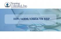 OSHA/BBP/TB/HBV/HCV/HIV/AIDS