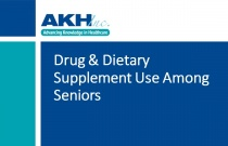 Drug & Dietary Supplement Use Among Seniors