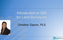 Introduction to GIS for Surveyors