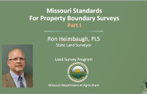 Missouri Standards for Property Boundary Surveys Part I
