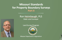 Missouri Standards for Property Boundary Surveys Part II