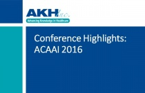American College of Allergy, Asthma & Immunology Conference Highlights: ACAAI 2016