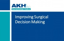 Improving Surgical Decision Making