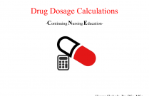 Drug Dosage Calculation