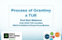 Therapeutic Use Exemption's - Part 2 - Granting a TUE