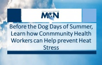Before the Dog Days of Summer, Learn how Community Health Workers can Help Prevent Heat Stress