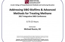 Addressing SIBO Biofilms & Advanced Methods for Treating Methane