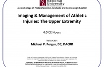 Imaging and Management of Athletic Injuries: The Upper Extremity