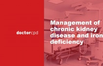 Management of chronic kidney disease and iron deficiency