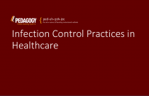 Infection Control Practices in Healthcare