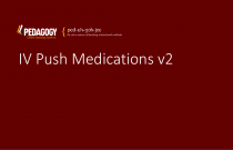 IV Push Medications v2