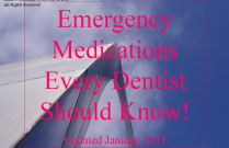 Emergency Medications Every Dentist Should Know: Part 1