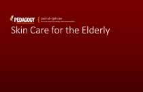 Skin Care for the Elderly