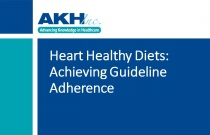 Heart Healthy Diets: Achieving Guideline Adherence