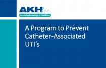 A Program to Prevent Catheter-Associated UTI's