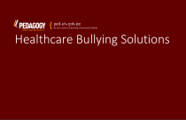 Healthcare Bullying Solutions