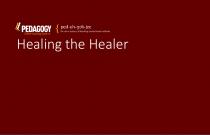 Healing the Healer