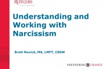 Understanding and Working with Narcissism