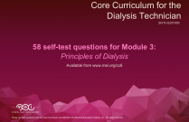 3 Principles of Dialysis - 58 Quiz Questions