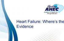 Heart Failure: Where's the Evidence