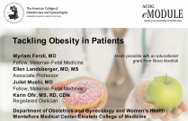 Tackling Obesity in Patients