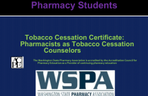 Tobacco Cessation Certificate: Pharmacists as Tobacco Cessation Counselors - for Students