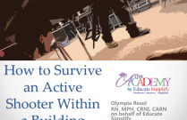 How to Survive an Active Shooter within a Building