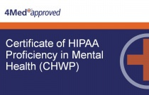 Certificate of HIPAA Proficiency in Mental Health (CHWP)