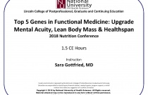Top 5 Genes in Functional Medicine: Upgrade Mental Acuity, Lean Body Mass & Healthspan
