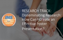 RESEARCH TRACK: Disseminating Research: How Can I Create an Effective Poster Presentation?
