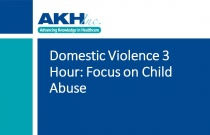 Domestic Violence 3 Hour: Focus on Child Abuse