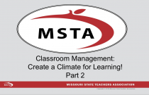 Classroom Management: Create a Climate for Learning- Part 2: Quiet Signals